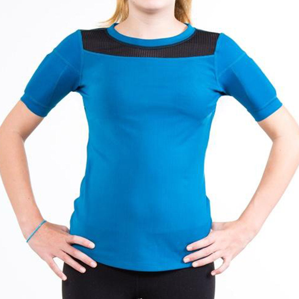 Girl's Ultimate Weighted Short Sleeve Top