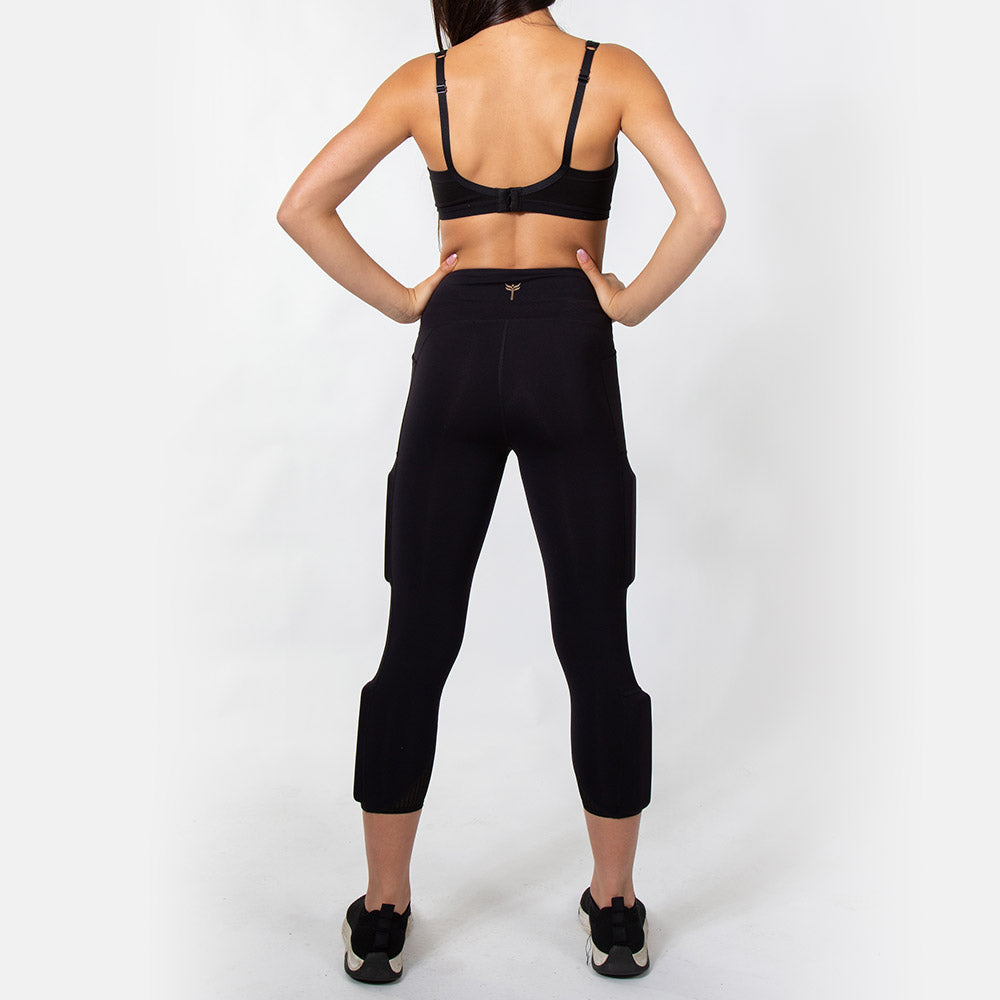 Women's Ultimate LifeStyle Weighted Legging - Black