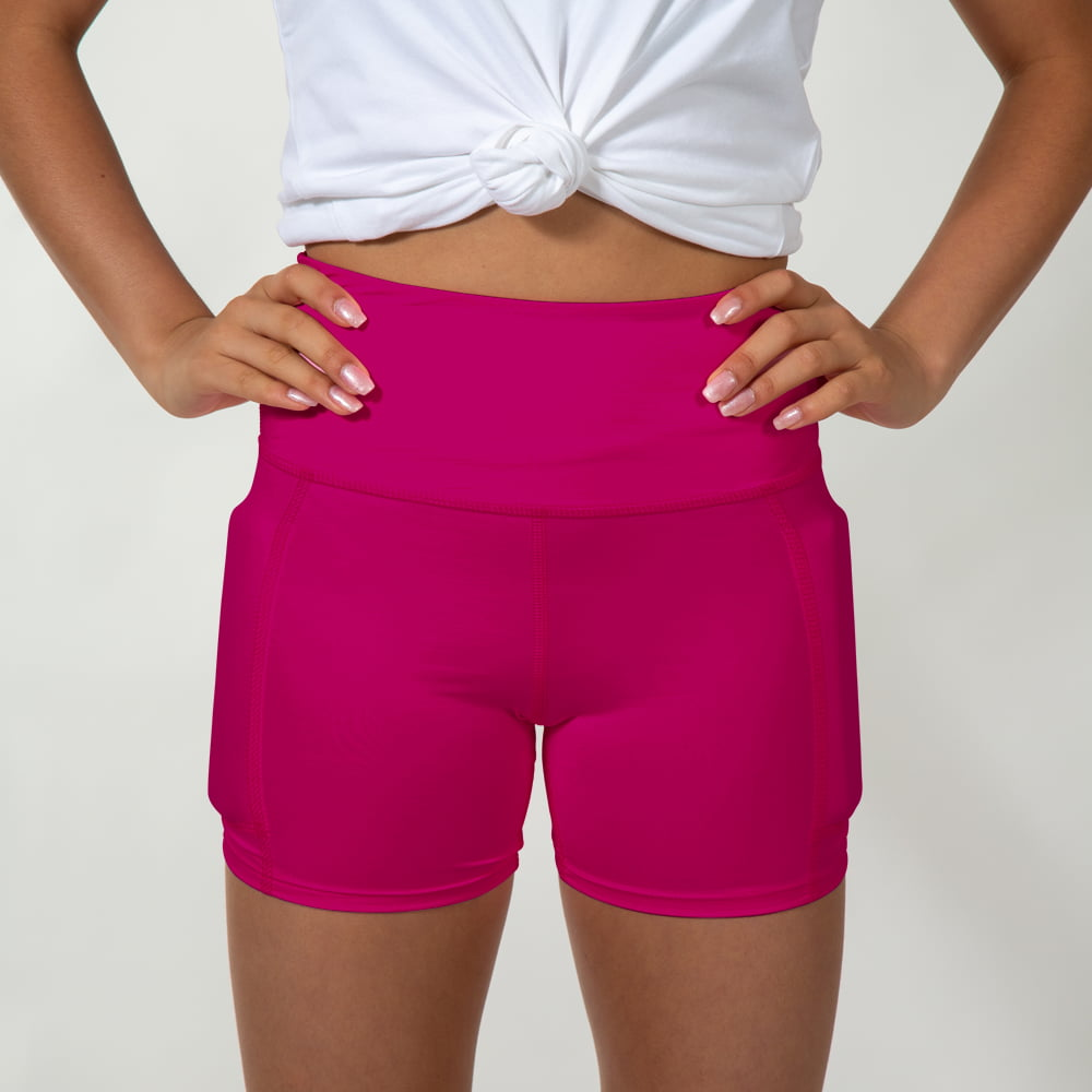 Girl's Ultimate LifeStyle Weighted Short - Fun Fuchsia