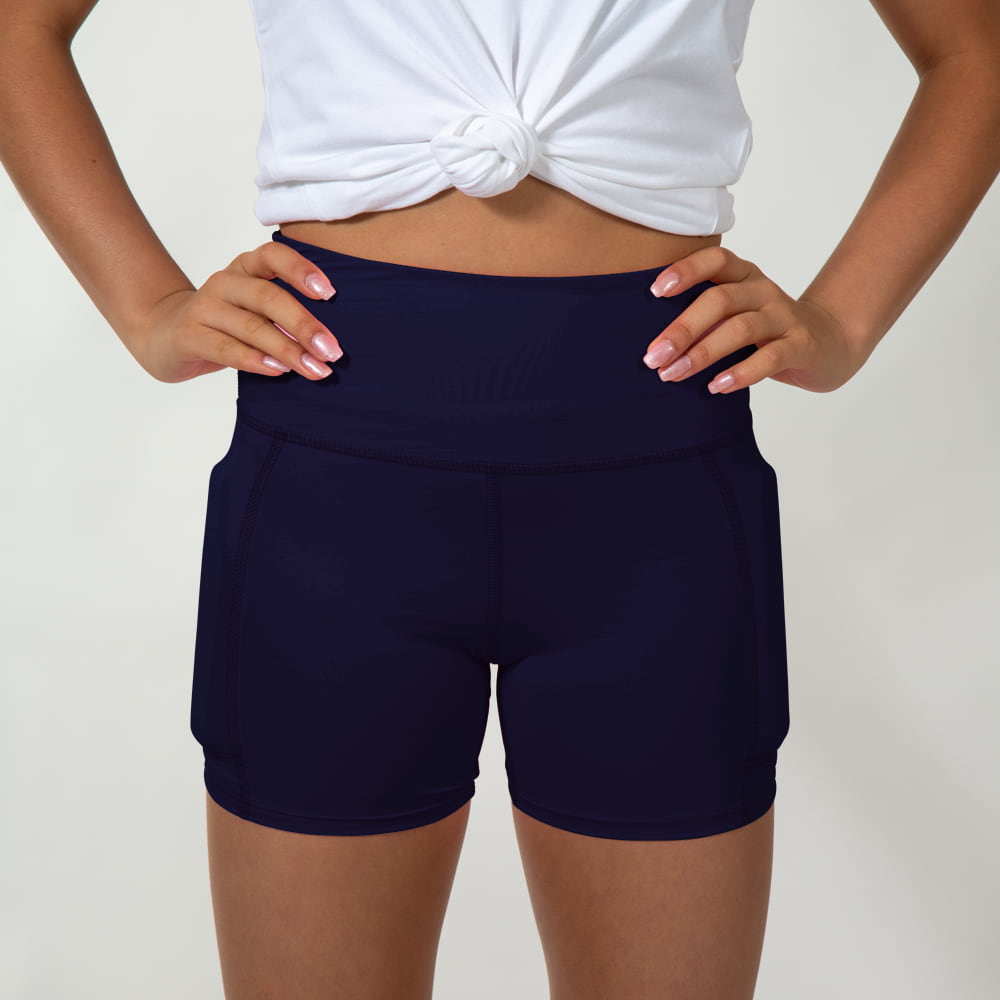 Girl's Rapid Response Weighted Performance Shorts - Midnight Blue