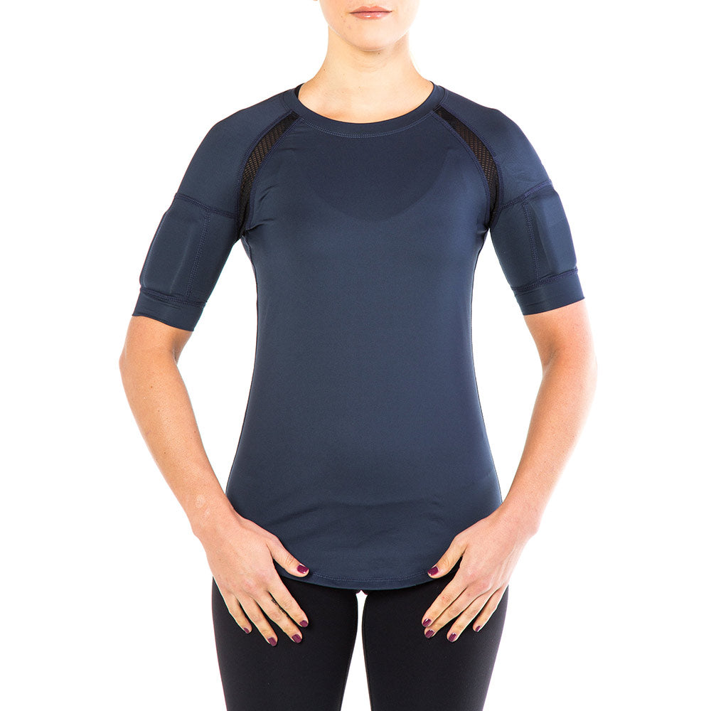 Women's CUT Weighted Compression Short Sleeve