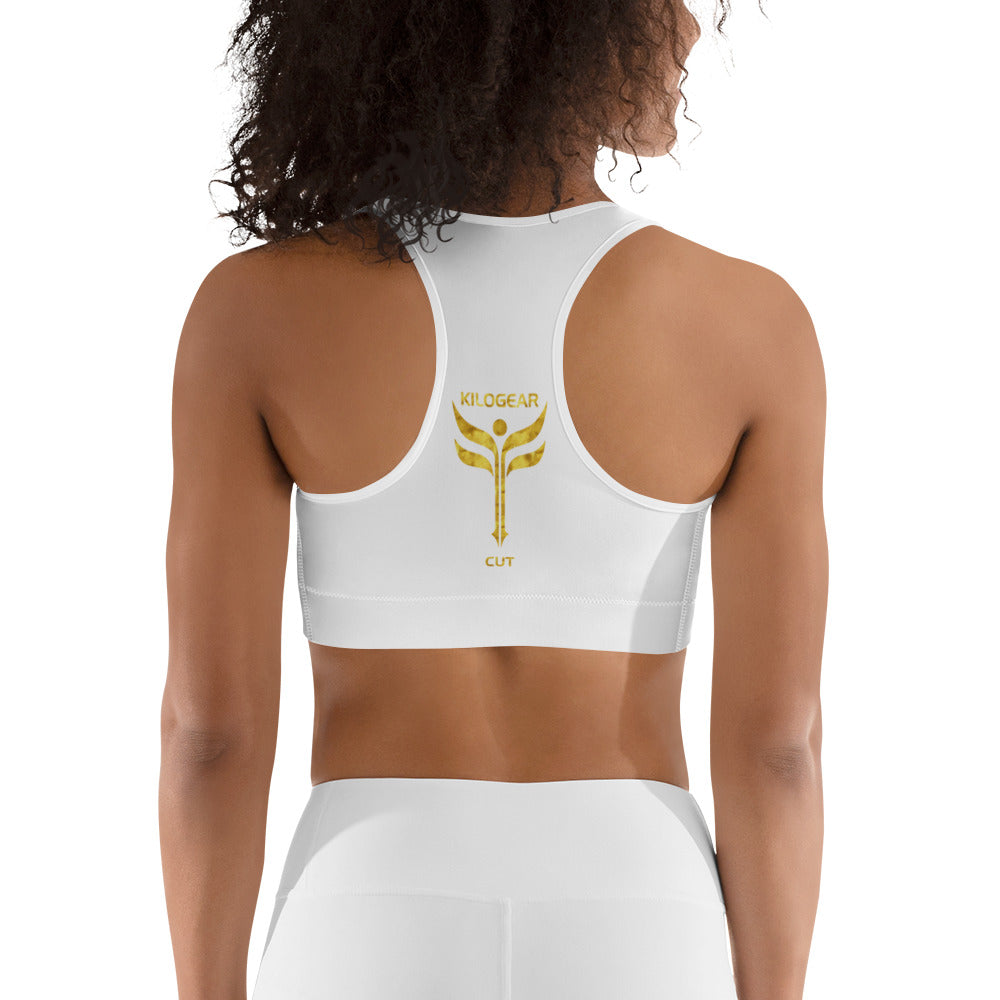 KGC Awesome Bra - White & Gold