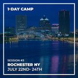 Session #3 - Rochester - 22nd to 24th July - 1 Day Camp