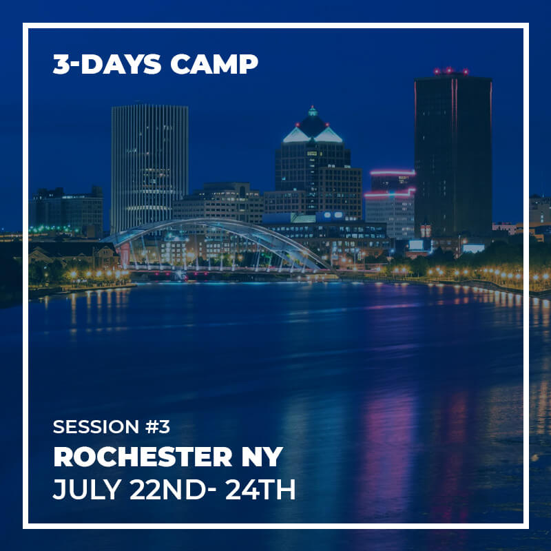 Session #3 - Rochester - 22nd to 24th July - 3 Days Camp