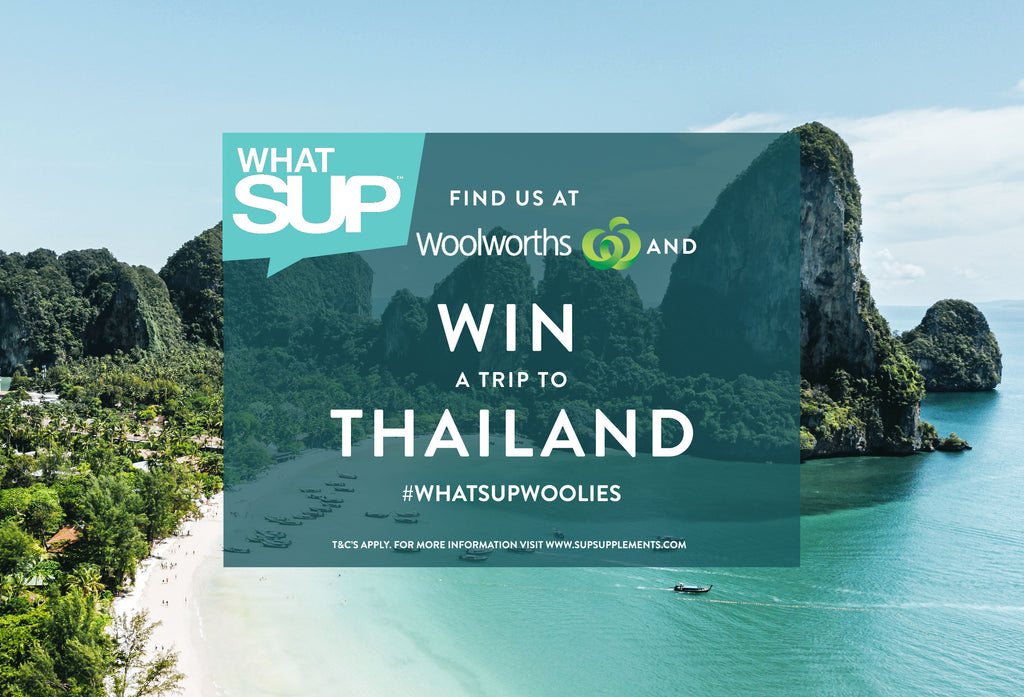 WIN A TRIP TO THAILAND SUP SUPPLEMENTS