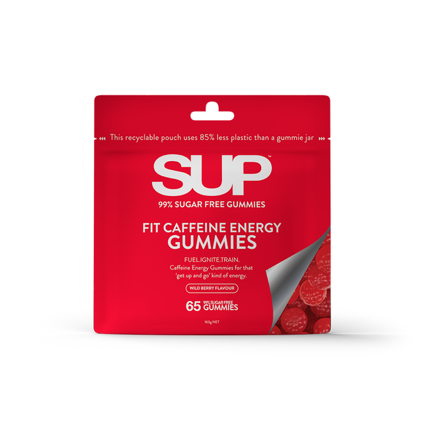 SUP<sup>TM</sup> FIT CAFFEINE ENERGY GUMMIES 65 PACK