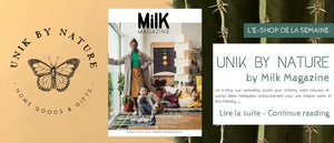 E-shop de la semaine: Unik by Nature