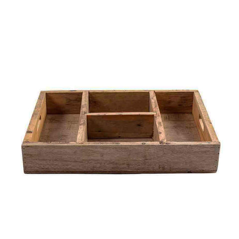 Storage Box Recycled Wood - Unik by Nature