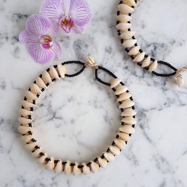 Cowrie Shell Necklace Handmade - Unik by Nature