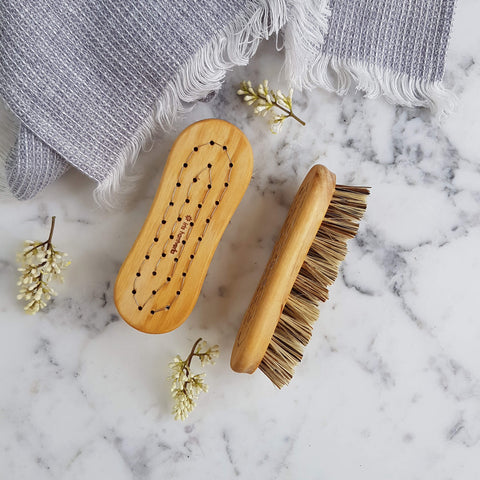 Iris Hantverk Vegetable Brush Handmade - Unik by Nature
