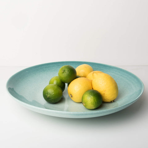 XL Serving Bowl Handmade in Italy - Celadon - Unik by Nature