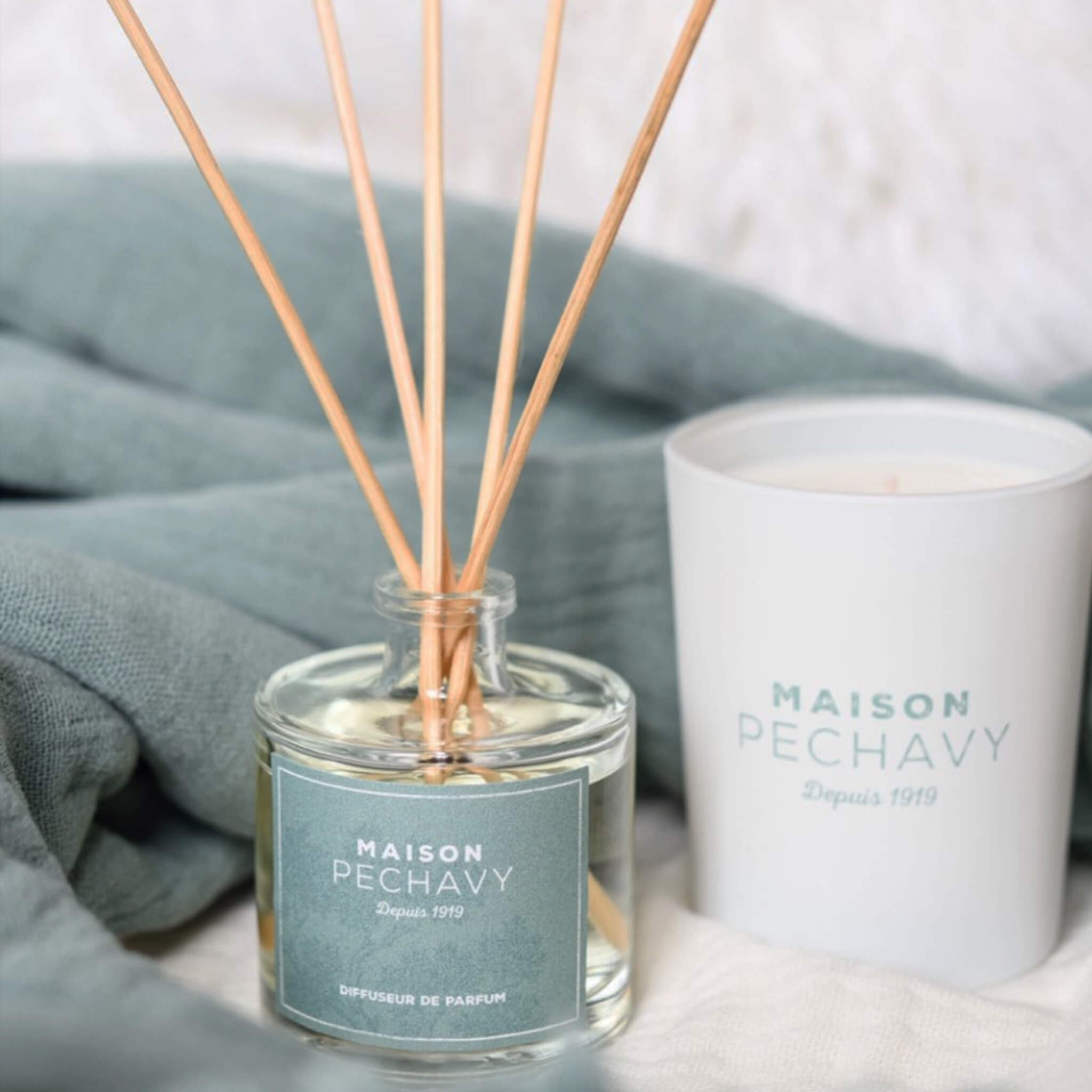 Reed Diffuser Woodfire Lavender and Patchuli - Unik by Nature
