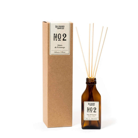 Reed Diffuser Matin de Printemps - Fresh linen - Unik by Nature