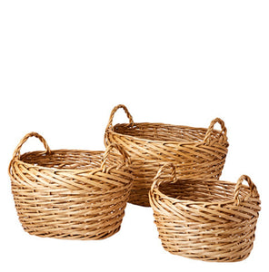 Willow basket 3 different sizes - Unik by Nature