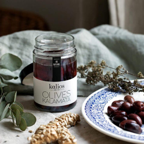 Kalamata Olives Whole - Unik by Nature