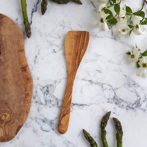 Sustainable Olive wood Handmade Spatula - Unik by Nature