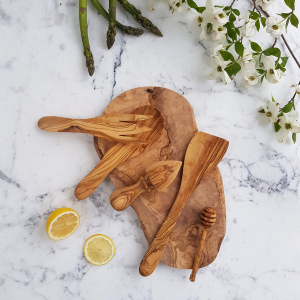 Sustainable Olive wood Handmade Citrus Juicer - Unik by Nature