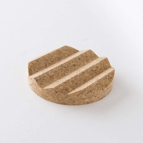Iris Hantverk Soap Dish made of Cork - Unik by Nature