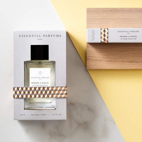 Orange X santal by Natalie Gracia-Cetto 100ML Spray Eau de Parfum - Unik by Nature