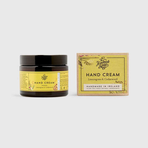 The Handmade Soap Company Lemongrass & Cedar Wood Hand Cream - Unik by Nature
