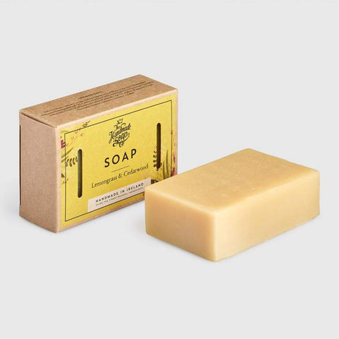 The Handmade Soap Company Lemongrass & Cedar Wood Soap - Unik by Nature