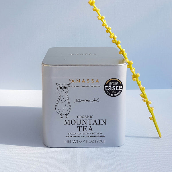 Anassa Mountain Tea Organic Loose Herbal Infusion - Tea bags included - Unik by Nature
