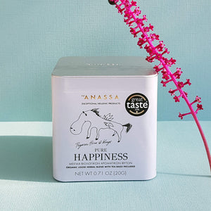 Anassa Pure Happiness Organic Loose Herbal Blend - Tea bags included - Unik by Nature