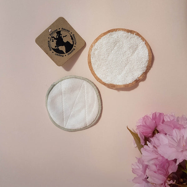 Reusable Makeup Remover Pads - 16 Pack - Unik by Nature
