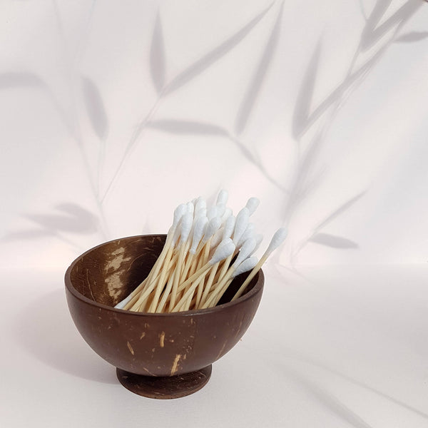 Organic Bamboo Cotton Buds - 200 pack - Unik by Nature