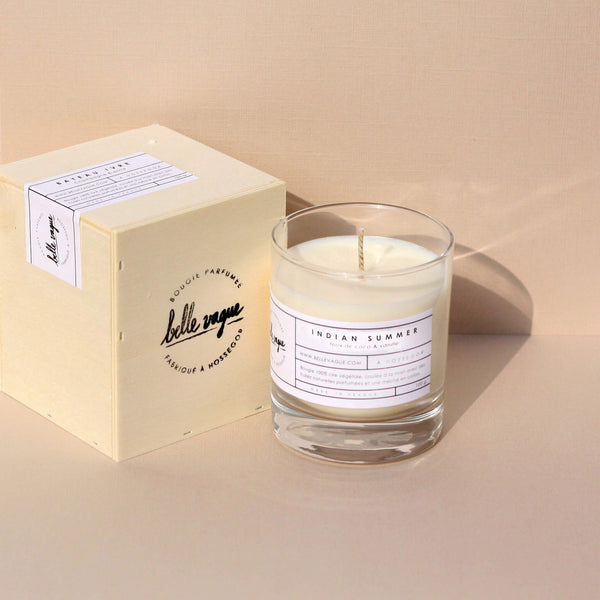Indian Summer Scented Candle - Unik by Nature