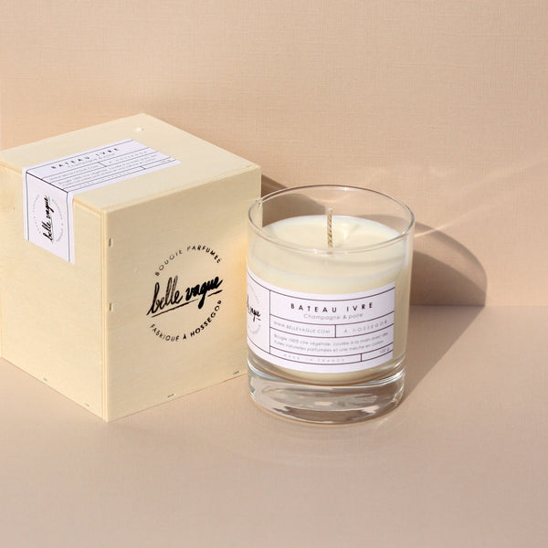 Belle Vague Bateau Ivre Scented Candel - Unik by Nature