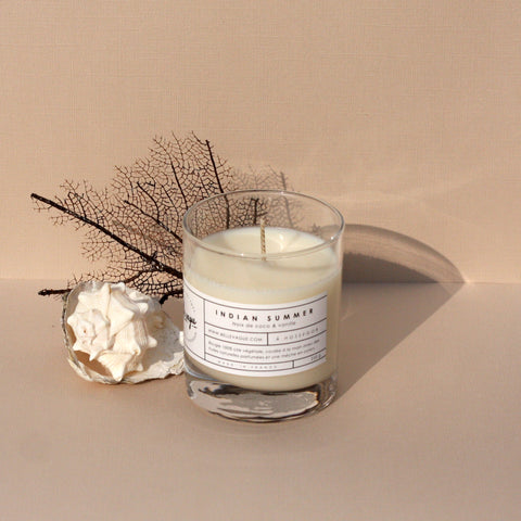 Belle Vague Indian Summer Scented Candle - Unik by Nature