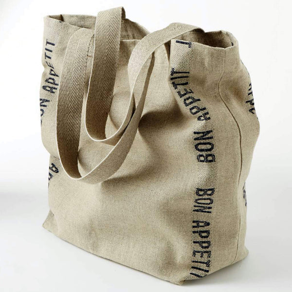 Charvet Éditions Linen Tote Bag Bon Appetit - Unik by Nature