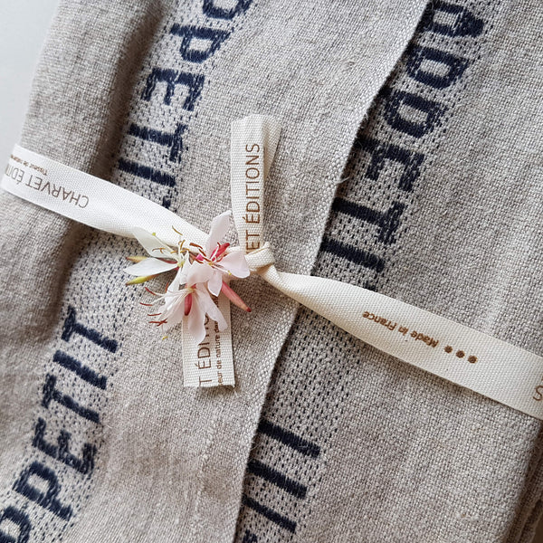 Linen Tea Towel Bon Appetit - Unik by Nature