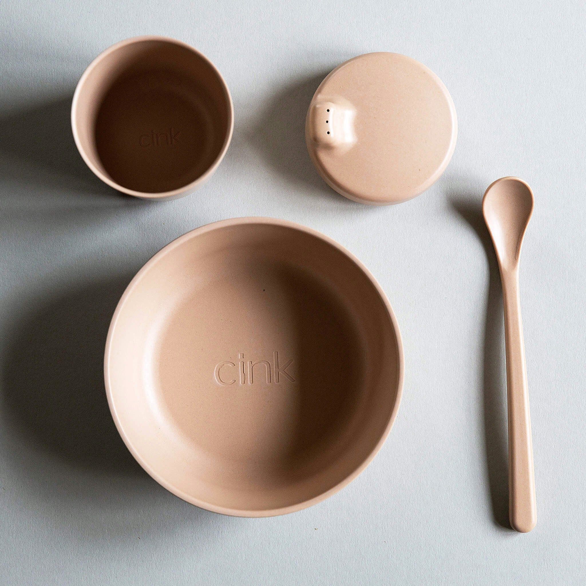 Cink Organic Bamboo Tableware Set - 4 pieces - Unik by Nature