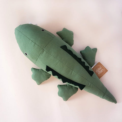 Global Affairs Crocodile Stuffed Animal - Unik by Nature