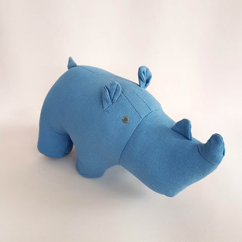 Global Affairs Rhinoceros Stuffed Animal - Unik by Nature