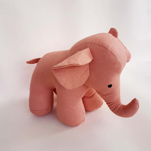 Global Affairs Elephant Stuffed Animal - Unik by Nature