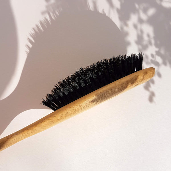 Hair Brush Wood & Wild Boar Bristle - Unik by Nature