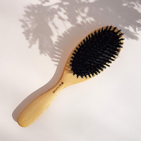 Iris Hantverk Hair Brush Wood & Wild Boar Bristle - Unik by Nature