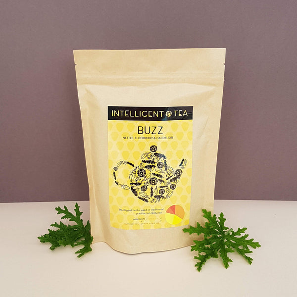 Intelligent Tea Buzz Herbal Infusion Wild & Organic - Unik by Nature