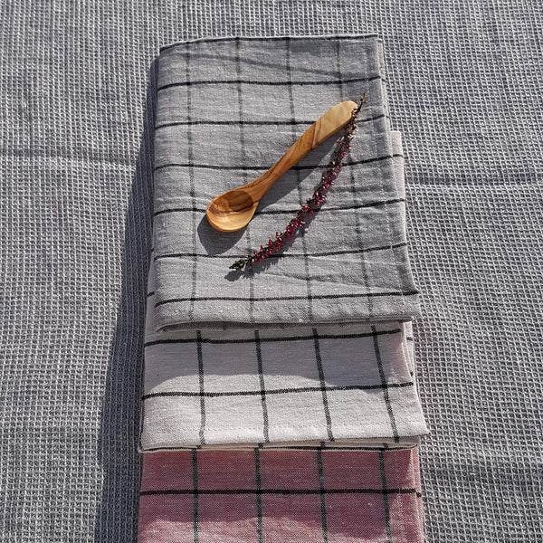 Unik by Nature Linen Napkin  Aspviken - Kattholmen - Morgonlandet - Unik by Nature