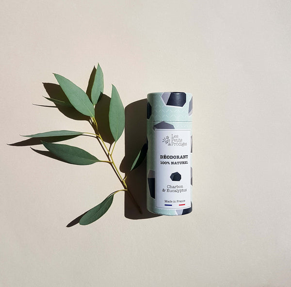 Charcoal & Eucalyptus Deodorant - Unik by Nature