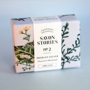 Savon Stories Clarifying Problem Solver Characol & Blackseed Bar Wash