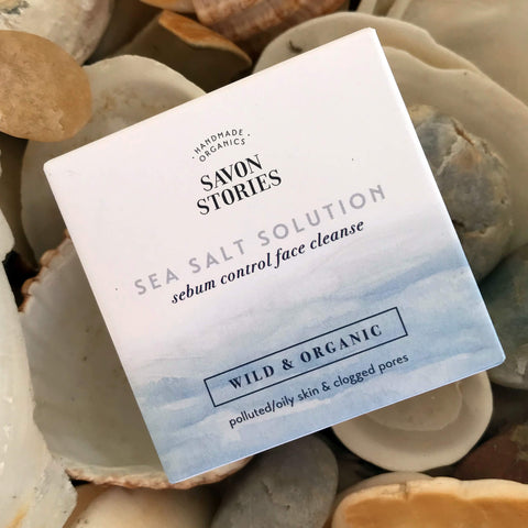 Savon Stories Wild & Organic Sea Salt Solution - Face Cleanse - Unik by Nature