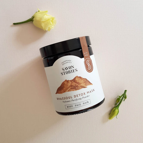 Rhassoul Clay Detox Mask - Unik by Nature