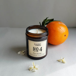 Le Secret de Manon Fleurs d'Oranger Scented Candle
