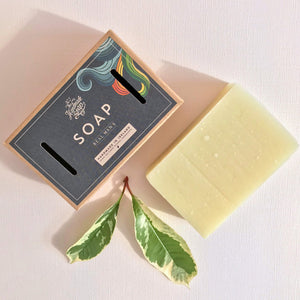 The Handmade Soap Company Real Men's Basil Lime & Sweet Orange Soap - Unik by Nature