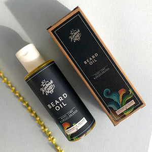 The Handmade Soap Company Men's Basil, Lime & Sweet Orange Beard Oil - Unik by Nature