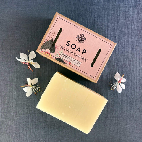 The Handmade Soap Company Grapefruit & Irish Moss Soap - Unik by Nature
